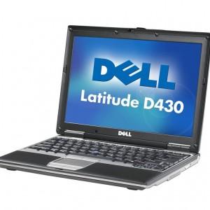 LEVNÝ DVOUJÁDROVÝ MANAŽERSKÝ MALÝ PŘENOSNÝ NOTEBOOK DELL D430 - notebooky
